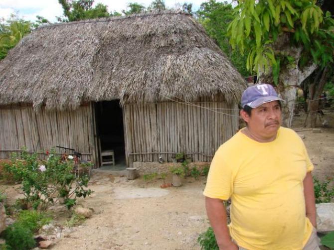 El usuario vive en San Antonio Nuevo, Felipe Carrillo Puerto, Quintana Roo